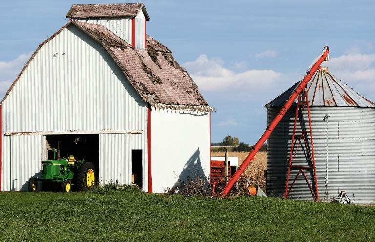 Farms such as this one in Des Moines, Iowa, have been hard-hit by the trade war with China