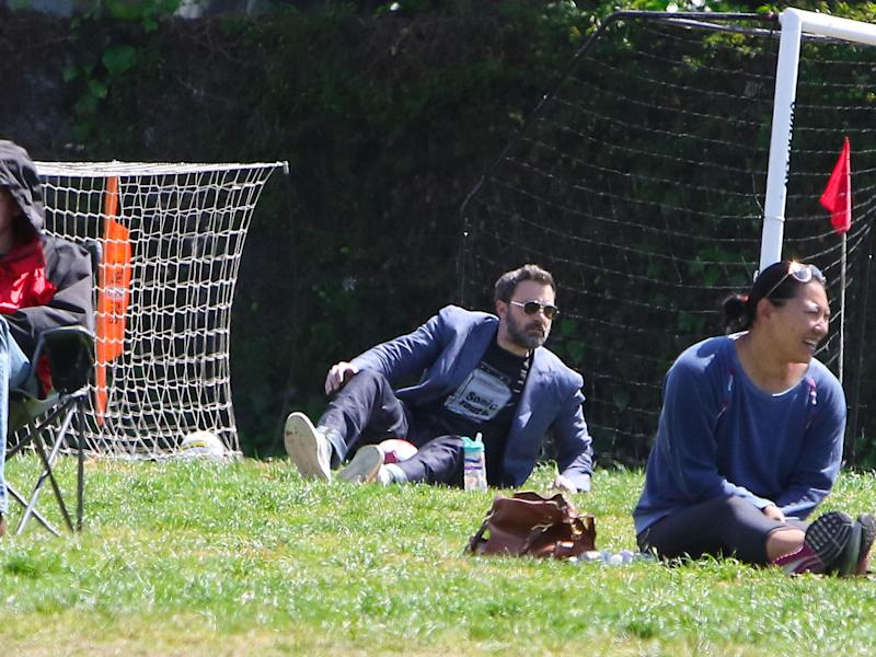 Ben Affleck Is the Most Dressed-Up Parent to Ever Attend a Children's Soccer Game