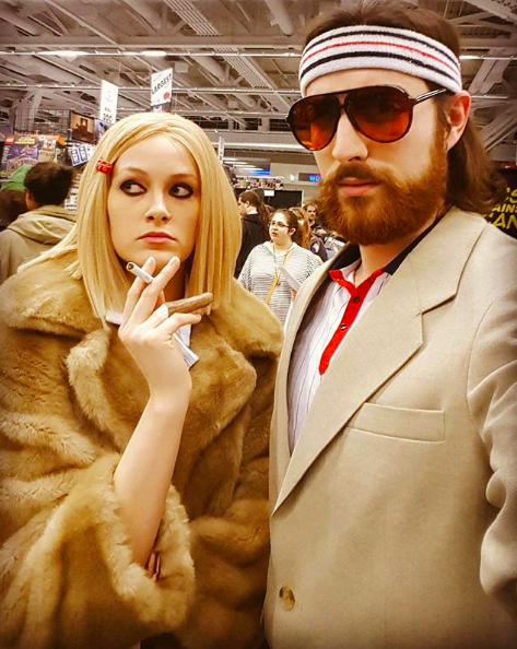 "<p>Wes Anderson's Margot Tenenbaum has long reigned our Pinterest boards courtesy of her blunt blonde bob, Fendi fur coat and striped tennis dress. If attending a Halloween party with a friend – why not suggest the role of Richie? <em>[Photo: Instagram/<a rel=""nofollow"" href=""https://www.instagram.com/p/BDCCT2toKPW/?taken-by=nightingale_vixen"">nightingale_vixen</a>]</em> </p>"