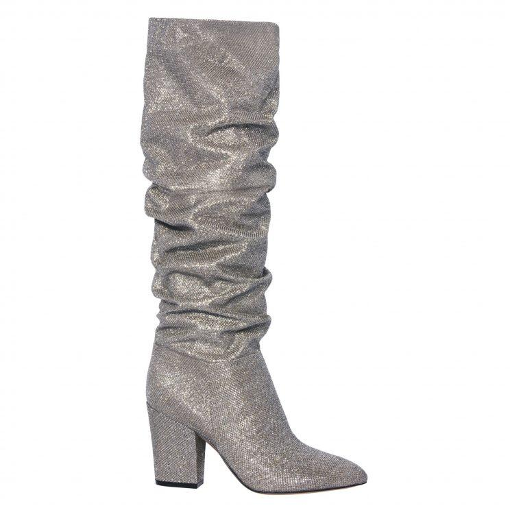 Nine West Metallic Slouch Boot
