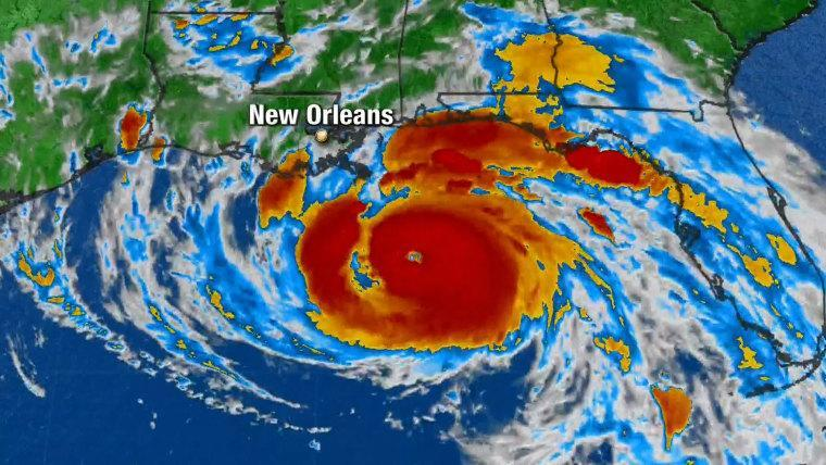 Hurricane Ida: One of the largest to hit Louisiana since the 1850s