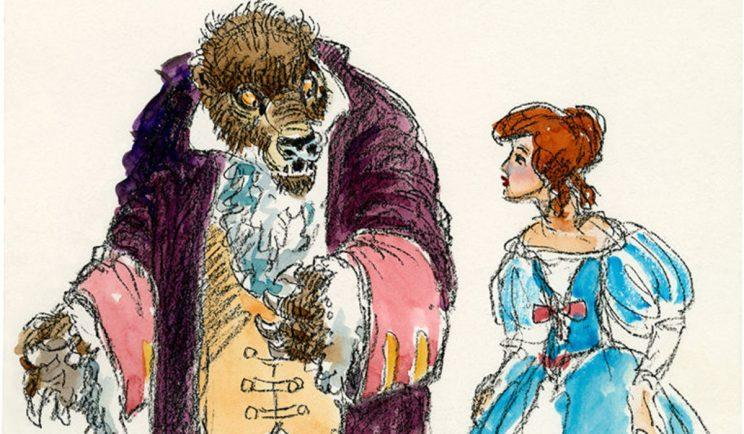 Concept art from the Purdum version of the film. Credit - Disney
