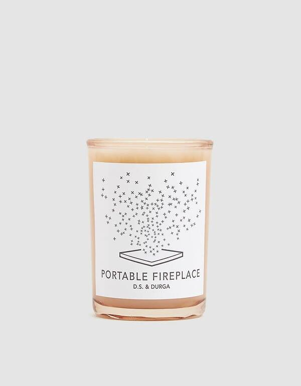 """<h3>D.S. & Durga Portable Fireplace Candle</h3><br>This luxe candle is scented with notes of pine, cedar, ash oak, and birch wood that one <a href=""""https://www.amazon.com/D-S-Durga-Portable-Fireplace-Candle/dp/B00VSDMGSM#customerReviews"""" rel=""""nofollow noopener"""" target=""""_blank"""" data-ylk=""""slk:Amazon reviewer"""" class=""""link rapid-noclick-resp"""">Amazon reviewer</a> claims, """"really does smell like a wood fire.""""<br><br><strong>D.S. & Durga</strong> Portable Fireplace Candle, $, available at <a href=""""https://amzn.to/2SFH8br"""" rel=""""nofollow noopener"""" target=""""_blank"""" data-ylk=""""slk:Amazon"""" class=""""link rapid-noclick-resp"""">Amazon</a>"""