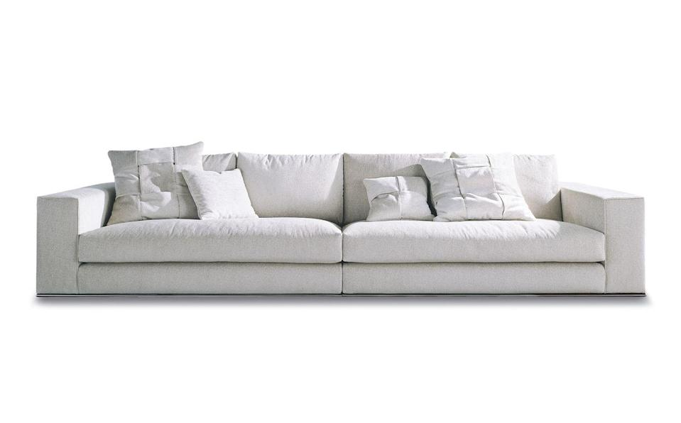 "<p>Simple and timeless in its appeal, this design by Rodolfo Dordoni is also available as a modular sofa and for those who like a little support when relaxing, headrests can also be added. £10,248, <a href=""https://minottilondon.com/products/minotti-hamilton-sofa/?campaign=9903843570&content=447622876939&keyword=minotti%20hamilton%20sofa&gclid=Cj0KCQjwvYSEBhDjARIsAJMn0liTUMyBm5jKhBTw2-F6lNUrIKCn-9bjcFfiPkcEtrkFvSemHVpT-_8aAtoqEALw_wcB"" rel=""nofollow noopener"" target=""_blank"" data-ylk=""slk:minottilondon.com"" class=""link rapid-noclick-resp"">minottilondon.com</a></p>"
