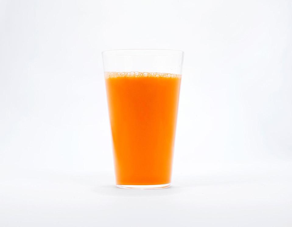 "The classic carrot-ginger combo gets extra zesty with lime juice. <a href=""https://www.bonappetit.com/recipe/carrot-ginger-and-lime-juice?mbid=synd_yahoo_rss"" rel=""nofollow noopener"" target=""_blank"" data-ylk=""slk:See recipe."" class=""link rapid-noclick-resp"">See recipe.</a>"