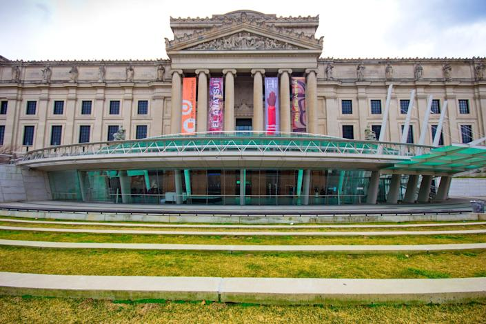 With roughly 1.5 million works, the Brooklyn Museum houses New York's second largest art collection (the Metropolitan Museum of Art holds the top spot). Completed in 1895, the Beaux-Arts building was designed by McKim, Mead and White. (Note: McKim, Mead and White was the same firm responsible for the design of the city's original Pennsylvania Station, and the arch in Washington Square Park, among other structures.) In 2004, a beautiful $63 million glass entrance was added to greet visitors. Designed by Ennead Architects (previously known as Polshek Partnership), the 15,000-square-foot pavilion provides a striking juxtaposition to the more traditional backdrop of the museum façade.