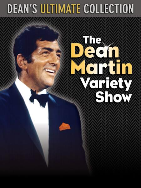 """This DVD cover image released by Time Life shows """"Dean's Ulitmate Collection: The Dean Martin Variety Show."""" With footage culled from nine seasons and 48 episodes of the NBC series, the set includes over 17 DVDs with 32 hours of Dean and his pals that originally aired from 1965 to 1974. There are more than 300 musical performances, plus interviews and a guest list filled with virtually every major star of the era. (AP Photo/Time Life)"""