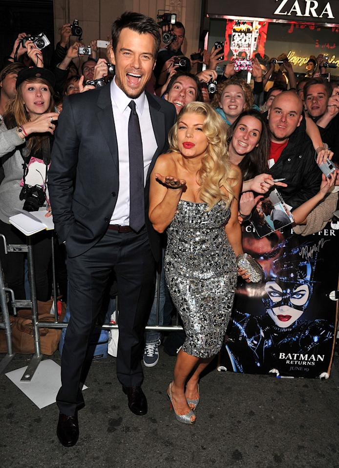 """<a href=""""http://movies.yahoo.com/movie/contributor/1804581818"""">Josh Duhamel</a> and <a href=""""http://movies.yahoo.com/movie/contributor/1809164197"""">Fergie</a> at the Los Angeles premiere of <a href=""""http://movies.yahoo.com/movie/1810219047/info"""">New Year's Eve</a> on December 5, 2011."""