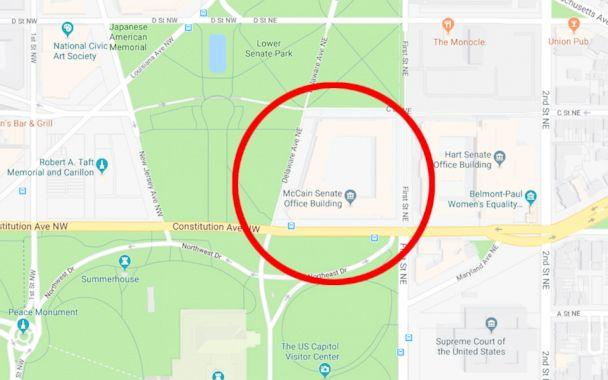 Google Maps briefly renames Senate office building after ...
