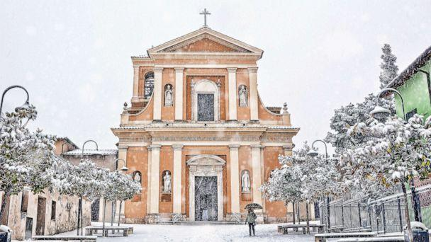 PHOTO: Saint Valentine Church, patron of lovers, in Terni, Italy. (STOCK PHOTO/Getty Images)