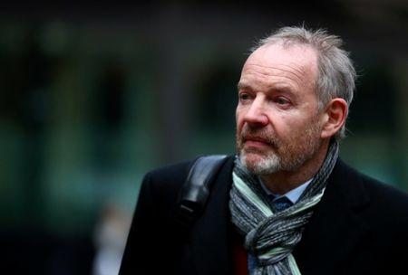FILE PHOTO: Former Barclays banker Richard Boath arrives at Southwark Crown Court in London, Britain, January 23, 2019. REUTERS/Hannah McKay