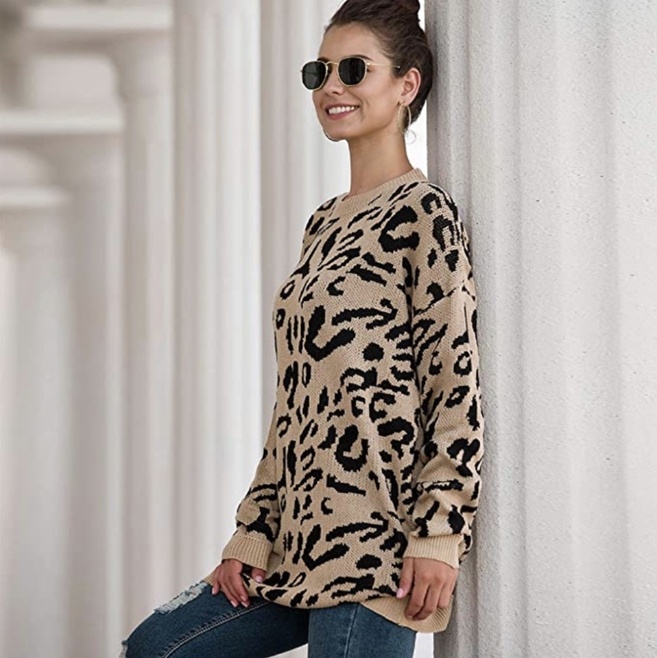 With jeans or with leggings, this sweater will be one of your favorites.  (Photo: Amazon)