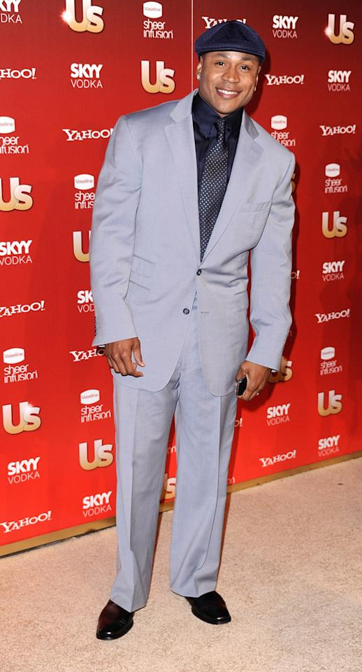 "LL Cool J was dapper as always in a suit and his signature Kangol cap. The rapper and his ""NCIS: Los Angeles"" co-star, Chris O'Donnell, were named ""Action Team of the Year."" Frazer Harrison/<a href=""http://www.gettyimages.com/"" target=""new"">GettyImages.com</a> - November 18, 2009"