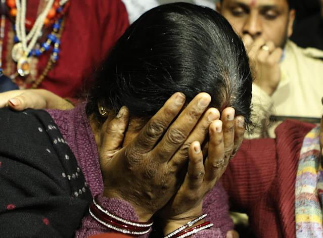 The brutal gang rape and fatal assault of a 23-year-old physiotherapy student on board a private bus in New Delhi led to national and international outpouring of grief and anger. The girl, referred to as 'Nirbhahya', the fearless one (as Indian laws prohibit the publication of the name of a rape victim), died in hospital after a prolonged battle with her injuries. The horrific episode galvanised the government to fast-track the passage of several new sexual assault laws, including a mandatory minimum sentence of 20 years for gang rape.
