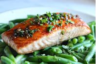 <p>There's a lot of green on this plate (and we're loving it). </p><p>Get the recipe from <span>Delish</span>.</p>