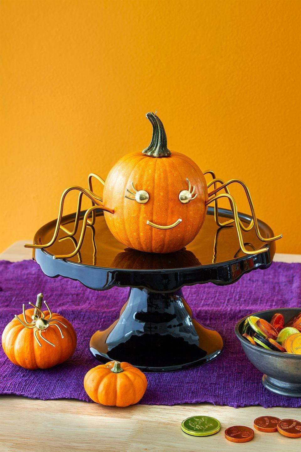 """<p>We know you're proud of your pumpkin crafting skills, which means it only makes sense to use a pedestal to show off your favorite creation for Halloween.</p><p><a class=""""link rapid-noclick-resp"""" href=""""https://www.amazon.com/wedding-adjustable-fondant-accessory-bakeware/dp/B07L815B9N/ref=asc_df_B07L815B9N/?tag=syn-yahoo-20&ascsubtag=%5Bartid%7C10055.g.33437890%5Bsrc%7Cyahoo-us"""" rel=""""nofollow noopener"""" target=""""_blank"""" data-ylk=""""slk:SHOP PEDESTAL"""">SHOP PEDESTAL</a></p>"""