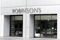 The Robinsons department store at the Raffles City mall seen closed on 7 April 2020, the first day of Singapore's month-long circuit breaker period. (PHOTO: Dhany Osman / Yahoo News Singapore)