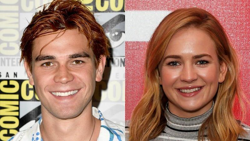 KJ Apa and Britt Robertson Pack on PDA at Comic-Con Party