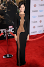 <p>A moment, please, for this mesh Azzaro number that Jaimie Alexander wore to the 2013 Thor: The Dark World premiere.</p>