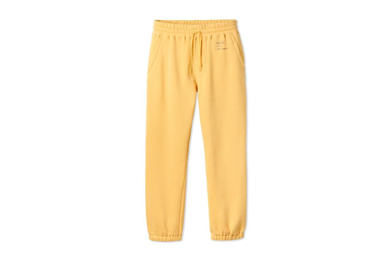 """$88, Entireworld. <a href=""""https://theentireworld.com/men/product/sweatpants-mens-type-c-version-2-yellow"""">Get it now!</a>"""