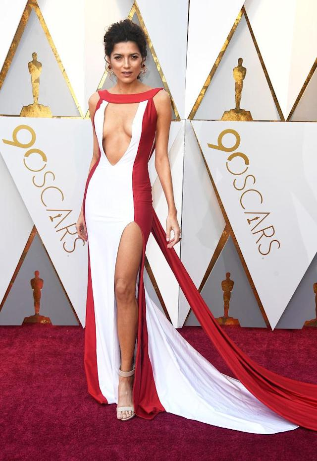 <p>Blanca Blanco attends the 90th Academy Awards in Hollywood, Calif., March 4, 2018. (Photo: Getty Images) </p>