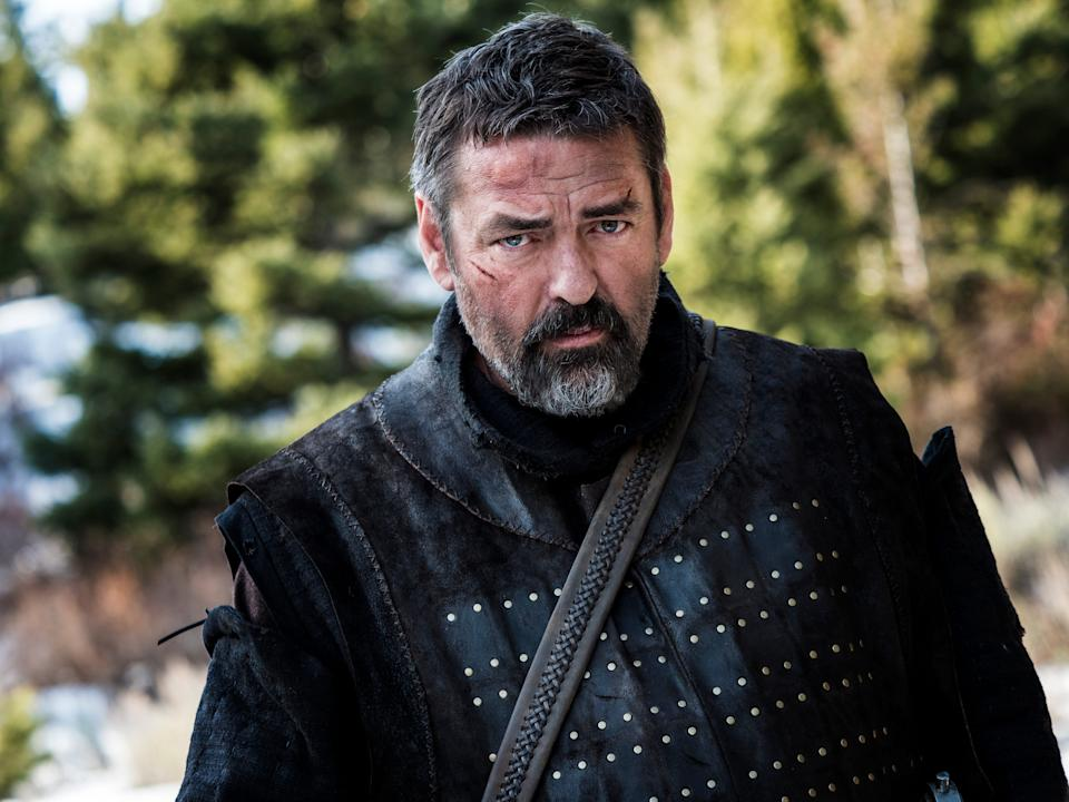 "Angus Macfadyen reprises his ""Braveheart"" role as the title character of ""Robert the Bruce."""