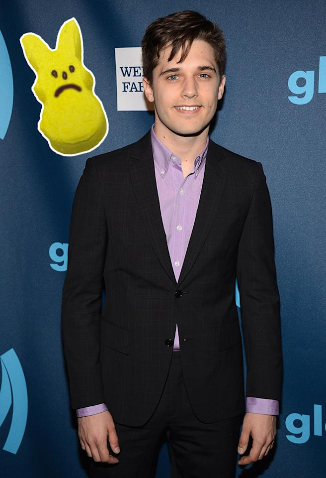 NEW YORK, NY - MARCH 16:  Actor Andy Mientus attends the 24th Annual GLAAD Media Awards on March 16, 2013 in New York City.  (Photo by Jamie McCarthy/Getty Images for GLAAD)