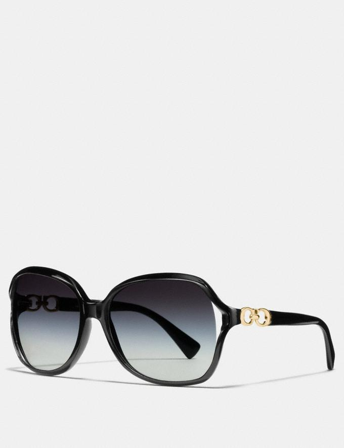 """<br><br><strong>Coach</strong> Kissing C Sunglasses, $, available at <a href=""""https://go.skimresources.com/?id=30283X879131&url=https%3A%2F%2Fwww.coachoutlet.com%2Fproducts%2Fkissing-c-sunglasses%2FL948.html%3Fdwvar_color%3DBLK%23start%3D2"""" rel=""""nofollow noopener"""" target=""""_blank"""" data-ylk=""""slk:Coach Outlet"""" class=""""link rapid-noclick-resp"""">Coach Outlet</a>"""