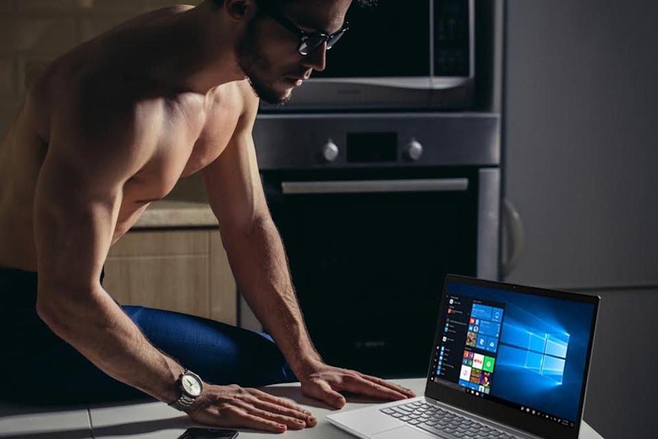 Lenovo in the comfort of one's home