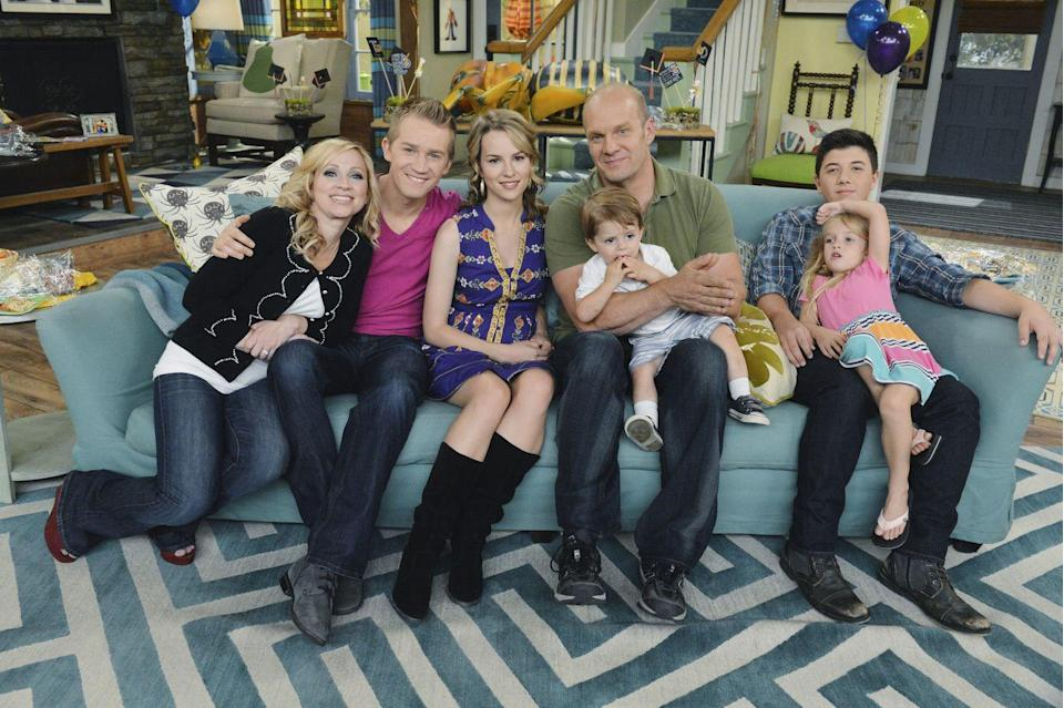 "<p>It was <a href=""https://www.emmys.com/shows/good-luck-charlie"" rel=""nofollow noopener"" target=""_blank"" data-ylk=""slk:nominated for Outstanding Children's Program"" class=""link rapid-noclick-resp"">nominated for Outstanding Children's Program</a> in 2012, 2013, and 2014. Unfortunately, it never won, losing to <em>Wizards of Waverly Place</em>, <em>Nick News with Linda Ellerbee</em> - <em>Forgotten But Not Gone: Kids, HIV & AIDS</em>, and <em>One Last Hug: Three Days at Grief Camp</em>, respectively.</p>"