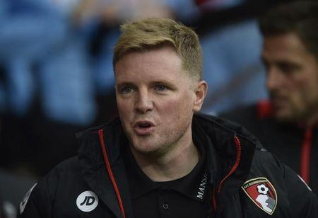 Britain Football Soccer - AFC Bournemouth v Swansea City - Premier League - Vitality Stadium - 18/3/17 Bournemouth manager Eddie Howe  Reuters / Hannah McKay Livepic