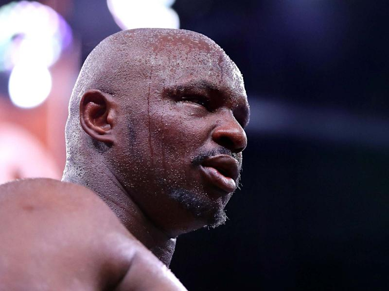 Dillian Whyte last fought in December: Getty Images