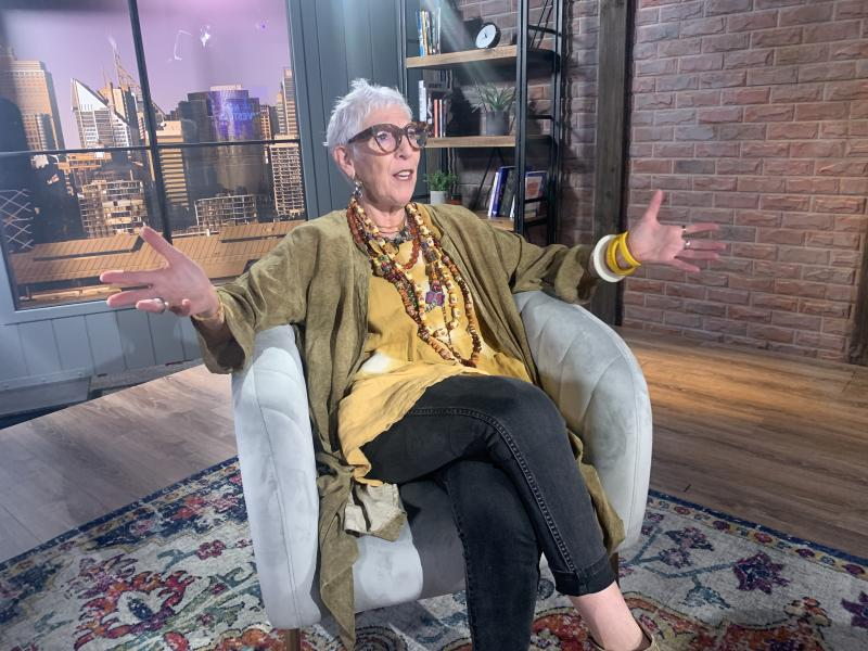 OzHarvest founder Ronni Kahn ran a $50k-a-weekend business - then, she focused on her charity full-time. Source: Yahoo Finance