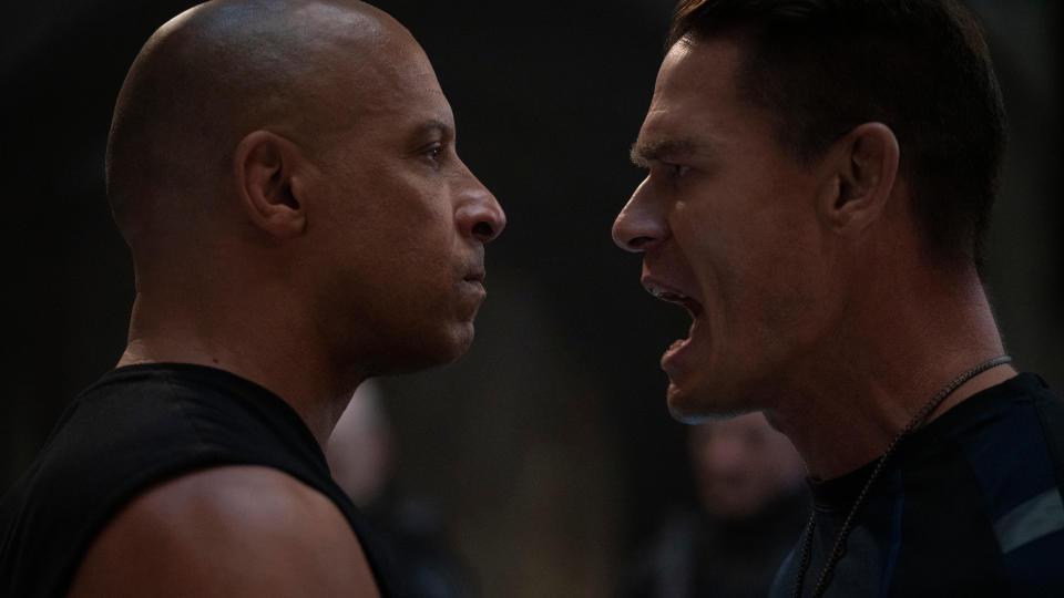 John Cena joins the franchise as the main antagonist of 'Fast & Furious 9'. (Giles Keyte/Universal)