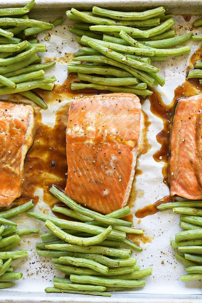 """<p>You may never go back to chicken after this.</p><p>Get the <a href=""""https://www.delish.com/uk/cooking/recipes/a29844436/teriyaki-glazed-salmon-recipe/"""" rel=""""nofollow noopener"""" target=""""_blank"""" data-ylk=""""slk:Teriyaki Glazed Salmon"""" class=""""link rapid-noclick-resp"""">Teriyaki Glazed Salmon</a> recipe.</p>"""