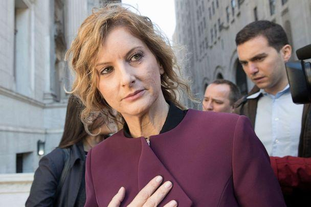 PHOTO: In this Oct. 18, 2018, file photo, Summer Zervos leaves New York state appellate court in New York. (Mary Altaffer/AP, FILE)