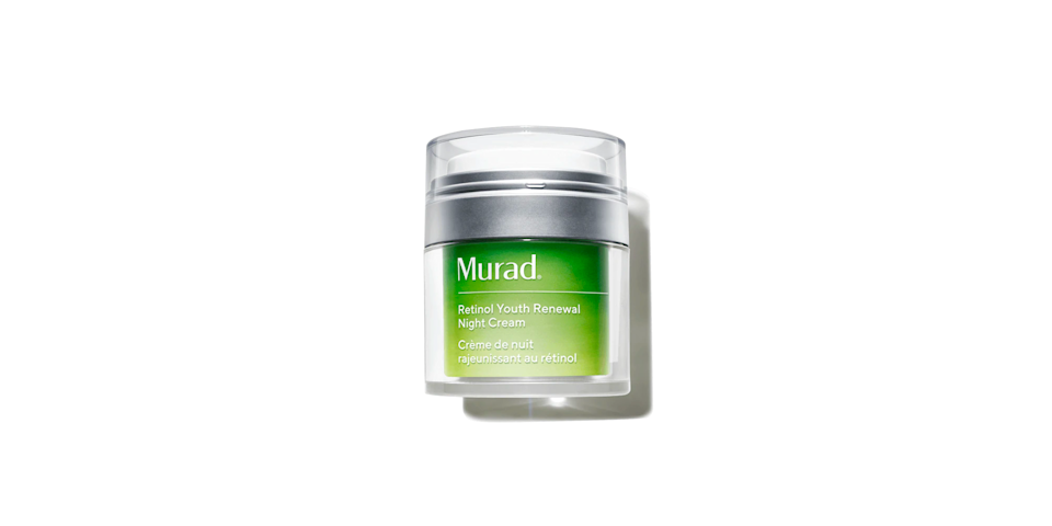 """<p><strong>Murad</strong></p><p>sephora.com</p><p><strong>$82.00</strong></p><p><a href=""""https://go.redirectingat.com?id=74968X1596630&url=https%3A%2F%2Fwww.sephora.com%2Fproduct%2Fmurad-retinol-youth-renewal-night-cream-P453929&sref=https%3A%2F%2Fwww.oprahdaily.com%2Fbeauty%2Fg28640223%2Fbest-night-cream%2F"""" rel=""""nofollow noopener"""" target=""""_blank"""" data-ylk=""""slk:Shop Now"""" class=""""link rapid-noclick-resp"""">Shop Now</a></p><p>There's no way to sugarcoat it: Retinol is a fantastic anti-aging ingredient, but it can cause irritation and dryness. This formula accounts for that, with barrier-repairing niacinamide and picolinamide to help minimize any of the discomforts. </p>"""