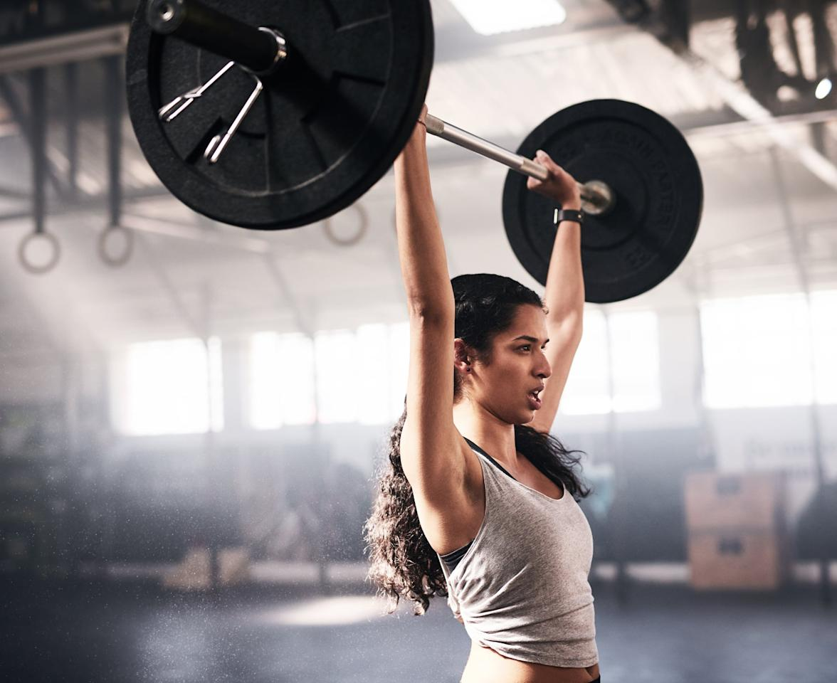 """<p>Regardless of your fitness goals, I think every person can benefit from adding strength training into their workout routine. According to a review in the <strong>British Journal of Sports Medicine</strong>, """"The general <a rel=""""nofollow"""" href=""""https://www.ncbi.nlm.nih.gov/pmc/articles/PMC2564387/"""">benefits of strength training for both men and women</a> include an increase in bone mass and lean mass, improved body composition (due to decreased fat mass), cardiovascular fitness, strength, and an enhanced sense of well being.""""</p> <p>""""For purely weight loss in the short-term, or even medium-term (a few weeks or a month), the answer is: it probably doesn't matter,"""" Dr. Harrison told POPSUGAR. """"But in the long-term, if you had to pick one, weight training is almost certainly better because of your increased muscle mass and its ability to continue to burn more calories at rest,"""" he explained. According to Dr. Harrison, most people don't actually want to lose weight because they'll end up losing both fat and muscle. Instead, he said, most people want to <a rel=""""nofollow"""" href=""""https://www.popsugar.com/fitness/How-Do-I-Lose-Body-Fat-Build-Muscle-45631433"""">lose fat and maintain and build muscle</a>. </p> <p>Strength training is also one of <a rel=""""nofollow"""" href=""""https://www.popsugar.com/fitness/What-Can-I-Do-Boost-My-Metabolism-45600476"""">the best ways to boost your metabolism</a>. Because you're building more muscle, which is more metabolically active than fat and requires more energy, you'll be burning more fat and calories than if you had less muscle and, as a result, losing weight.</p> <p>Although everyone is unique and responds to exercise differently, I generally recommend starting with three days of strength training and one to two cardio sessions a week. There are a variety of ways to set up your workouts; you can make them specific to a muscle group (arms, back, legs, glutes) or do <a rel=""""nofollow"""" href=""""https://www.popsugar.com/fitness/24-Minute-Total-Body-Wor"""
