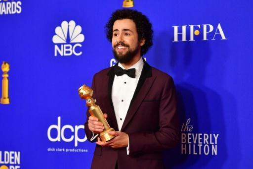 """US comedian Ramy Youssef -- the Globe winner for best comedy actor for his show """"Ramy"""" -- likely raised a few eyebrows with his speech"""