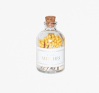 """<p>shopsocietysocial.com</p><p><strong>$14.95</strong></p><p><a href=""""https://www.shopsocietysocial.com/collections/candles-matches/products/yellow-fancy-matches"""" rel=""""nofollow noopener"""" target=""""_blank"""" data-ylk=""""slk:Shop Now"""" class=""""link rapid-noclick-resp"""">Shop Now</a></p><p>Pair a candle gift with a set of colorful matches in a cute glass bottle—complete with a striker underneath. </p>"""