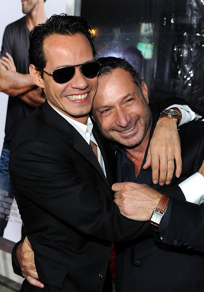 "<a href=""http://movies.yahoo.com/movie/contributor/1800254749"">Marc Anthony</a> and director <a href=""http://movies.yahoo.com/movie/contributor/1800178709"">Alan Poul</a> at the Los Angeles premiere of <a href=""http://movies.yahoo.com/movie/1810107558/info"">The Back-up Plan</a> - 04/21/2010"