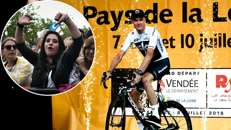 FROOME-BOOED
