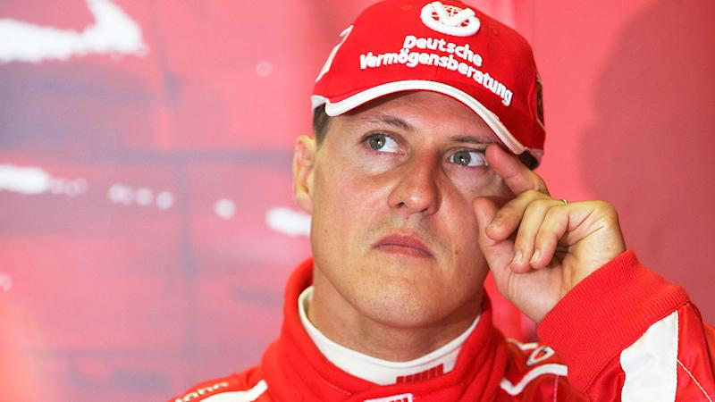 Pictured here, Michael Schumacher suffered a horrific skiing accident in 2013.