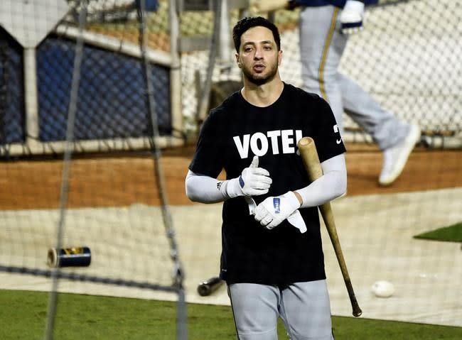 Dodgers add Gore for NL wild card; Anderson out for Brewers