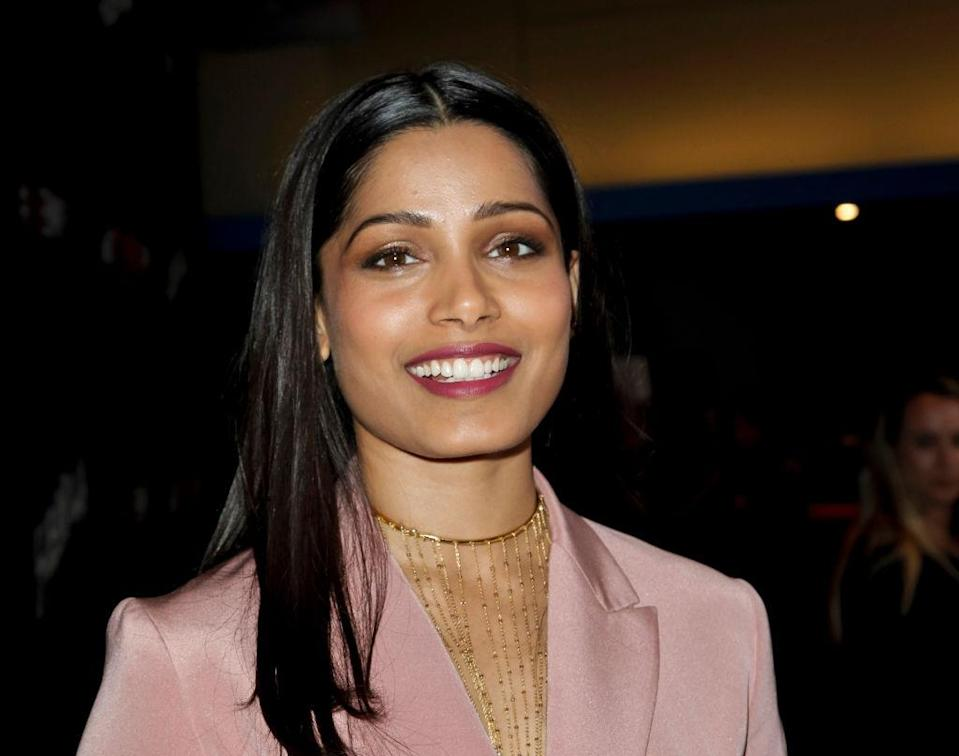 Freida Pinto attends a screening on April 13, 2017, in Beverly Hills, Calif. (Photo: Tibrina Hobson/Getty Images)