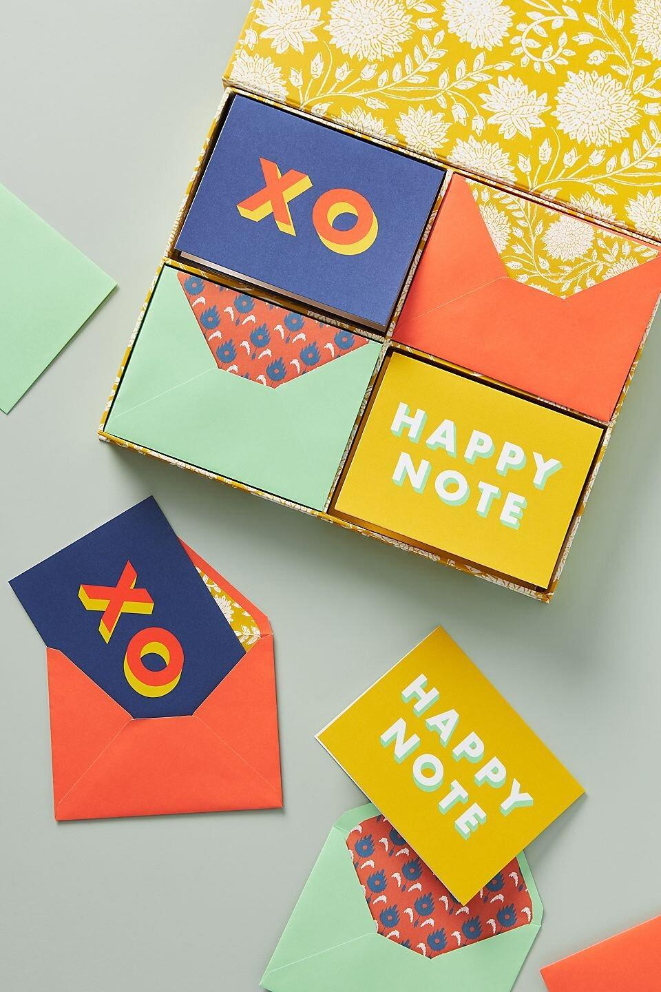 Pencil and Paper Co Happy Note Boxed Card Set