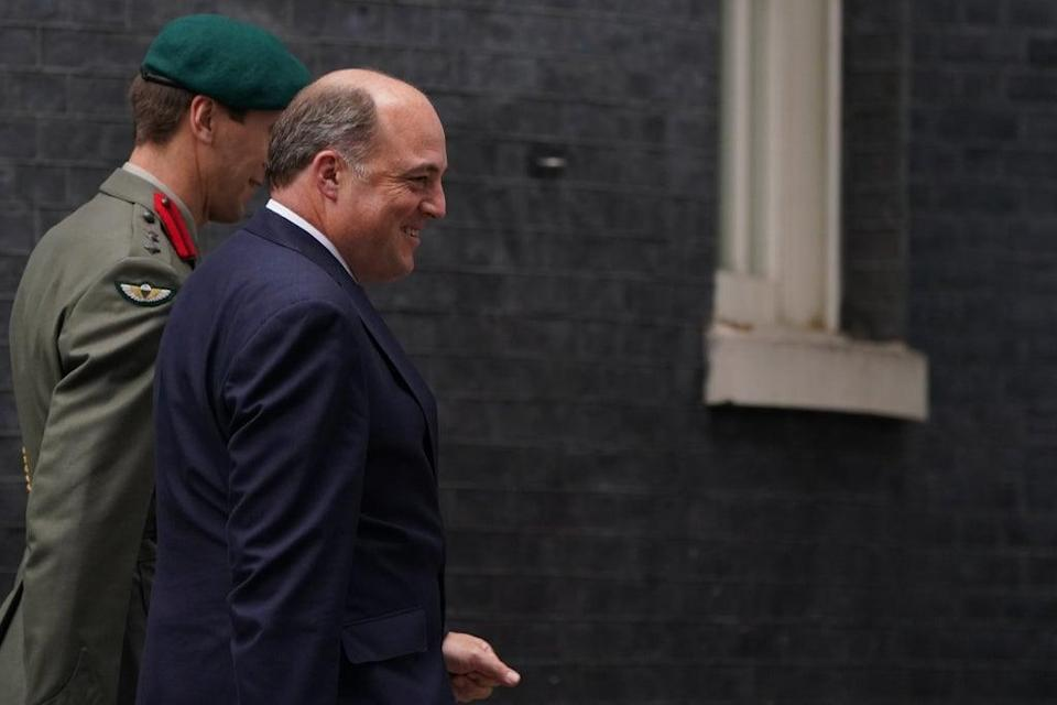 Defence Secretary Ben Wallace in Downing Street (PA) (PA Wire)