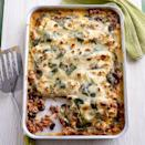 """<p>Feed a lot of people painlessly with this great meaty dish.</p><p><strong>Recipe: <a href=""""https://www.goodhousekeeping.com/uk/food/recipes/a535659/lamb-pork-cannelloni-recipe/"""" rel=""""nofollow noopener"""" target=""""_blank"""" data-ylk=""""slk:Lamb and Pork Cannelloni"""" class=""""link rapid-noclick-resp"""">Lamb and Pork Cannelloni</a></strong></p>"""