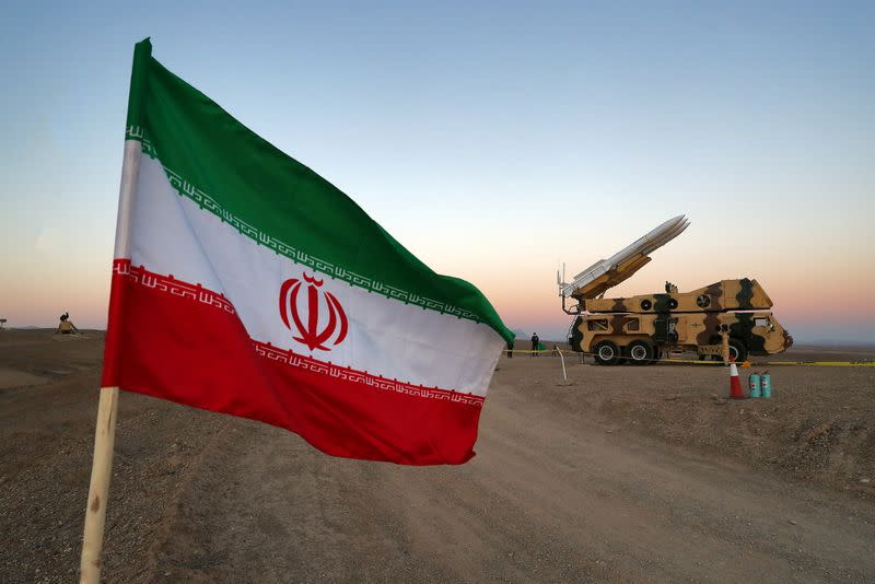 FILE PHOTO: Iran holds military drill amid rising tensions with U.S.