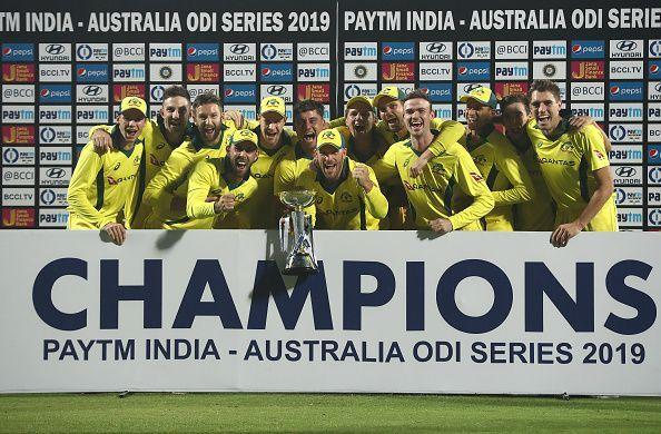 Australia defeats India and wins the series